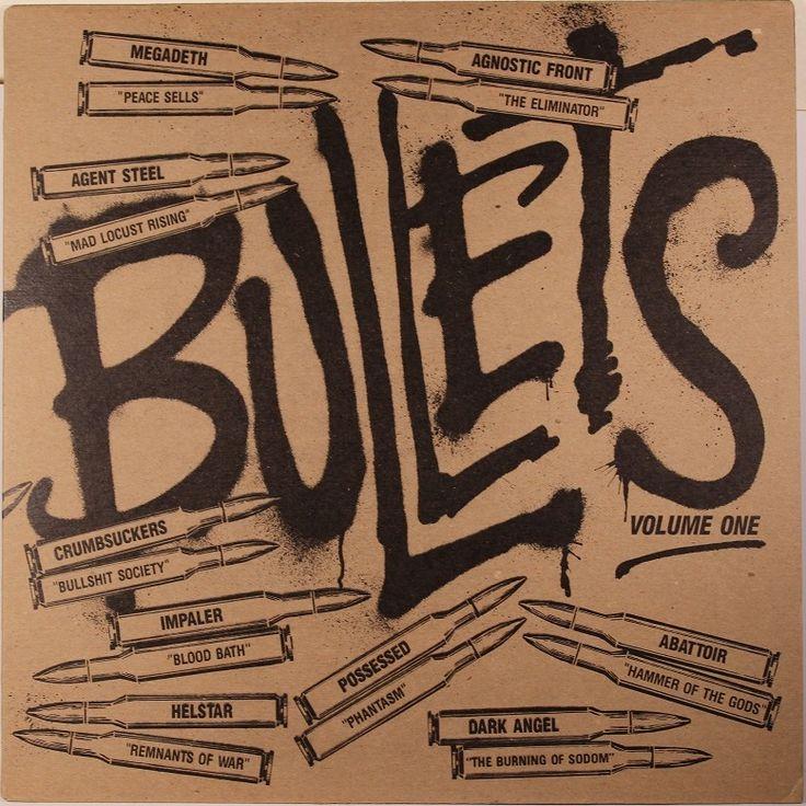 V/A - Bullets Volume One - Combat MX 8111 - USA, 1986