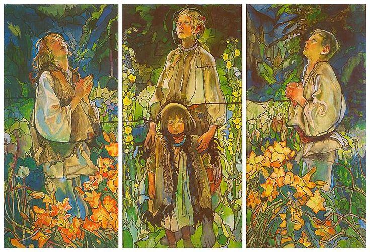 Kazimierz Sichulski  (1879 - 1942), Polish Illustrator
