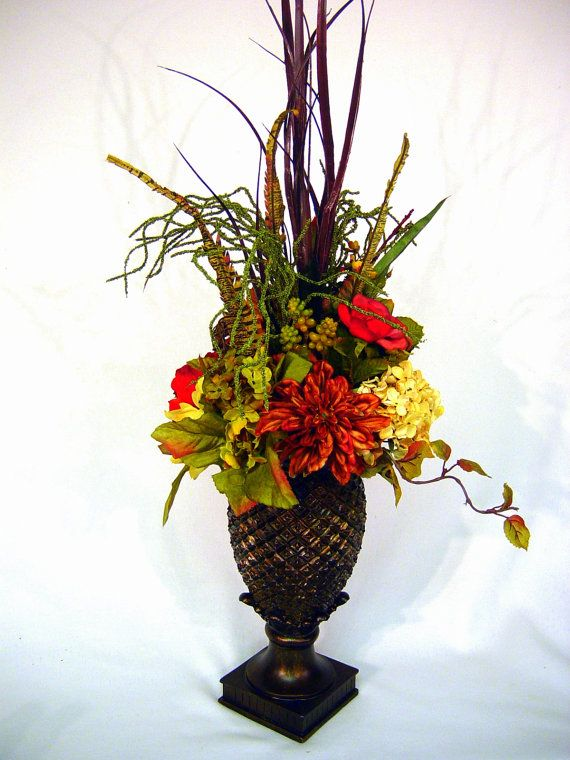 Williamsburg Old World Tuscan Centerpiece by cabincovecreations