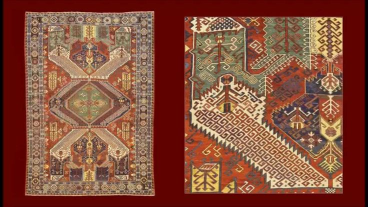 """Very beautiful DRAGONS SOUMAK with the classical brick red base is dominated by the green central medallion and densely decorated by elaborate multicolors patterns. To note the frame with the sequence of octagons in the principal border and the """"dog"""" decoration that run in the external hem. Piece dated 1911 of great expressive force, perfectly preserved. Rug cod. 140517140746 on site  www.gb-rugs.com"""