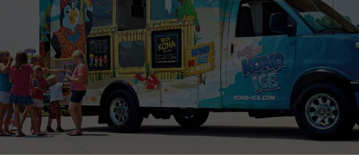 Find a Kona Ice Truck $150/hr for party