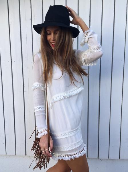 Annie Dress - White – Petal & Pup