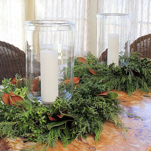 Fresh Bunches Centerpiece/Mantlepiece