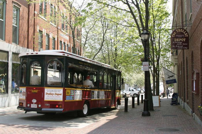 Salem Trolley: The Salem Trolley is the best way to see Salem and to experience the Witch City's unique and colorful past.  Since 1982, Salem Trolley has set the standard for sightseeing tours and exceptional transportation north of Boston. The Salem Trolley provides visitors with a narrated one hour tour and all day shuttle service through beautiful and historic Salem.