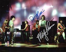 Jefferson Starship  * MICKEY THOMAS & DONNY *  Signed 8x10 Photo AD1 PROOF COA