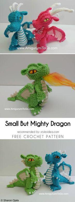 21 besten dragons Bilder auf Pinterest | Drachen, Häkeln drachen ...