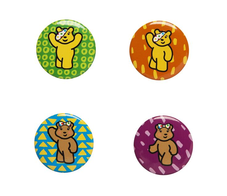 Check out the new BBC Children in Need badges and wear them with pride! There are four designs featuring Pudsey and Blush and they cost £1.50 for a pack of four.  All proceeds go to BBC Children in Need.  #CiN  http://bbc.in/SzRMf0