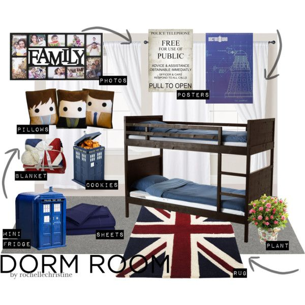 A Doctor Who Dorm Room, For The Super Geeky College Student Part 46