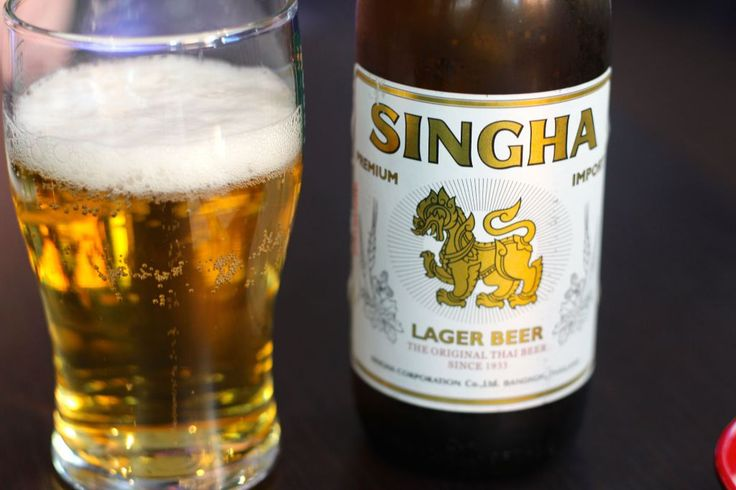 Thai-beer <3 Photo by: Linda Wenneson