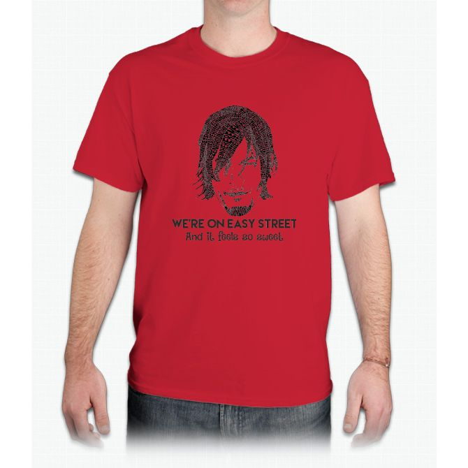 TWD - Daryl: We're On Easy Street - Mens T-Shirt