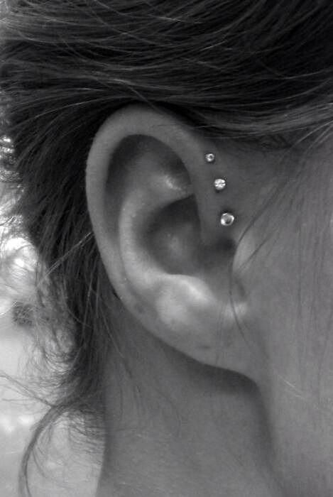 Triple forward helix, I think this will be my next piercing <3