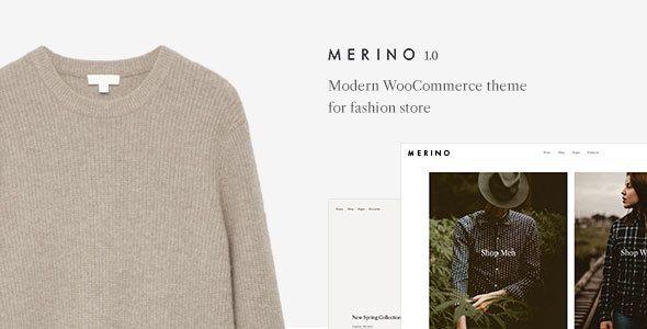 Merino | Modern WooCommerce shop theme for fashion store