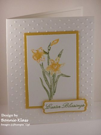 Easter Blessings by bon2stamp - Cards and Paper Crafts at Splitcoaststampers