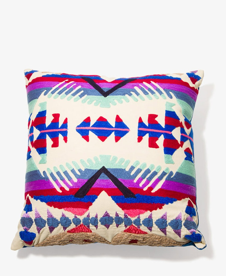 Southwestern Throw Pillows For Couch : Southwestern Decorative Pillow FOREVER21 {Home} Pinterest Southwestern decorative ...