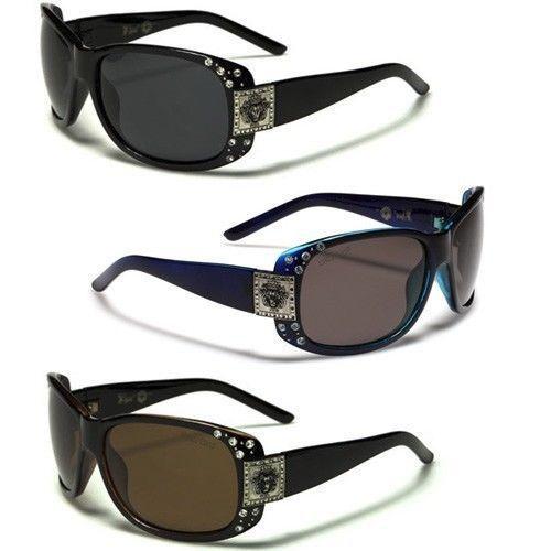 Kleo Polarized Rhinestone Women'S Celebrity Glasses Black Brown Round Sunglasses
