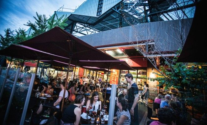 South Melbourne Night Market - less than a mile from our place!