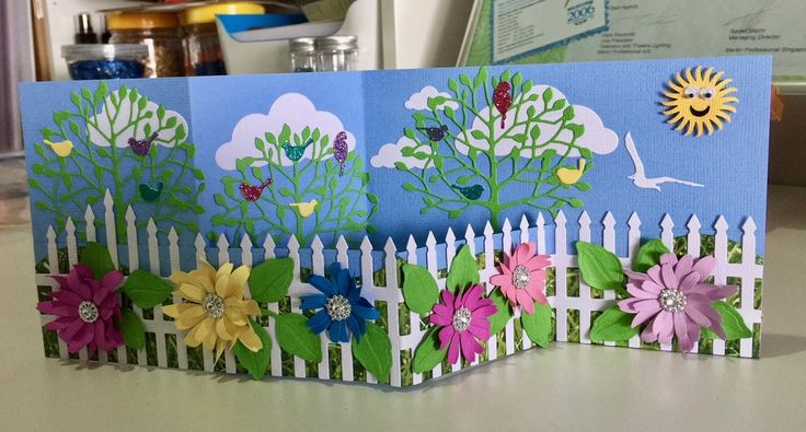 Birthday card for Leilani using Memorybox and Cheery Lyn dies