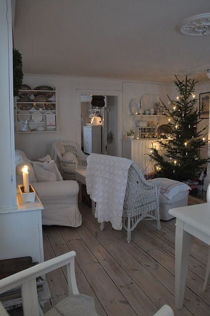 cozy Swedish living room