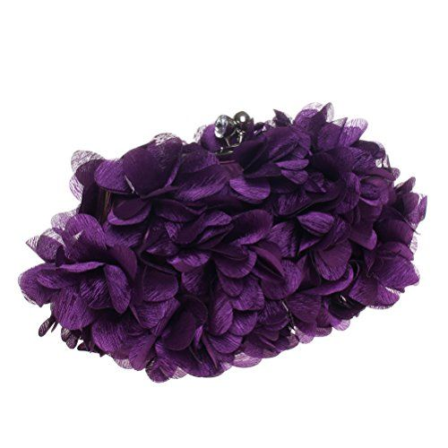 New Trending Clutch Bags: Fashion Road Evening Clutch, Womens 3D Floral Rhinestone Clutch Purses For Wedding  Party Purple. Fashion Road Evening Clutch, Womens 3D Floral Rhinestone Clutch Purses For Wedding  Party Purple  Special Offer: $14.99  199 Reviews Description Features: Material: Silk Size: 9.4*0.8*6.3 inch Color: White/Apricot/Pink/Purple/Blue/Black Package: A Evening Clutch Design ...