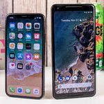 Pixel 2 vs iPhone X vs Note 8 vs LG V30 LTE speeds test crowns the Google phone