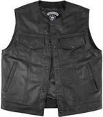 Legendary Anarchist Leather Vest *LD-7206*
