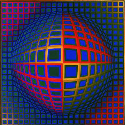 Peinture contemporaine - Victor Vasarely - Vega-Nor