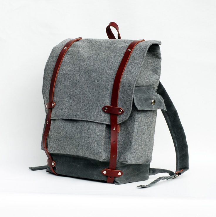 Sketchbook The Wayfarer Backpack in Gray Wool