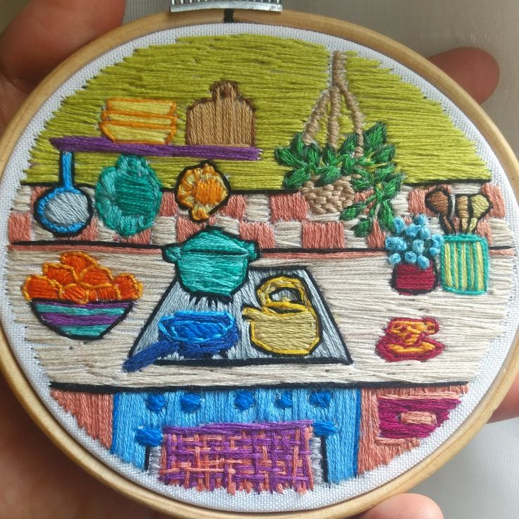 #embroidery #bordado #kitchen #house