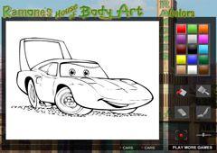 Juegos-Cars.com - Juego: Ramone's House Of Art - Minijuegos de Autos Cars Disney Gratis Online