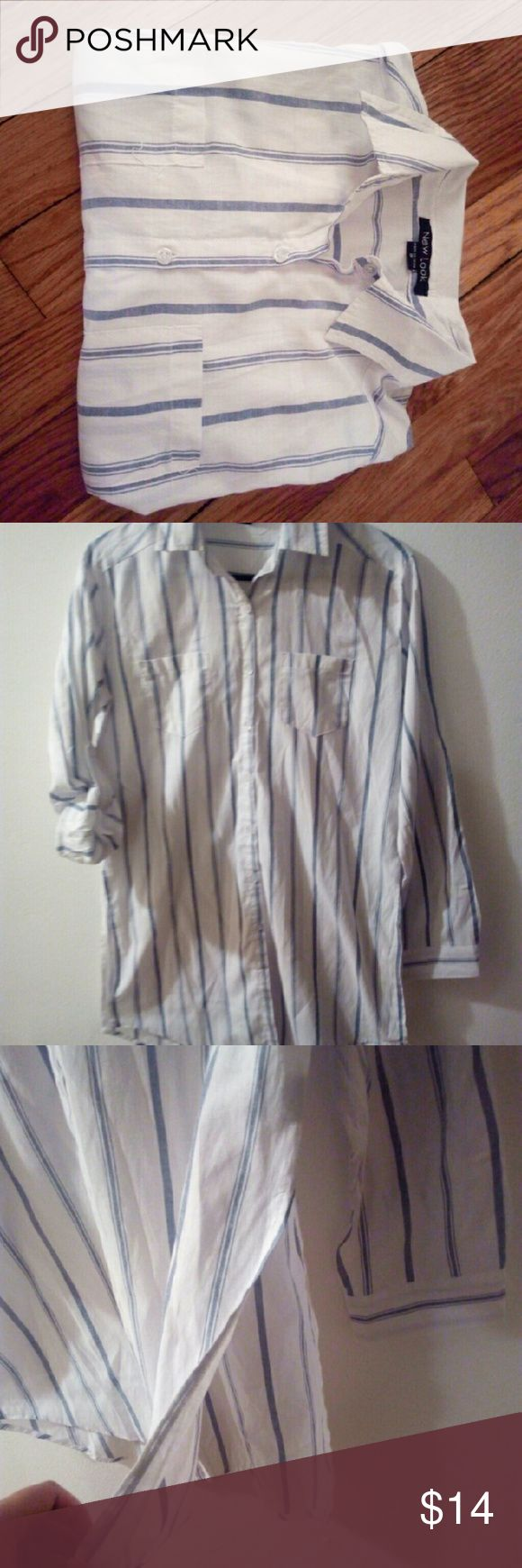 Tunic Like ng beautiful tunic shirt is ready to go . * excellent condition* | * side cuts * . New Look Tops Tunics