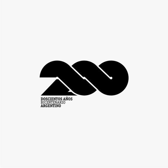 200 years... logo