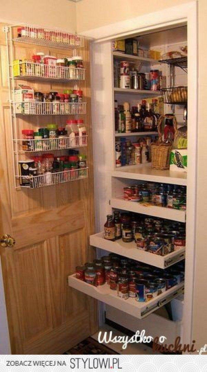 Kitchen Pantry Storage Cabinet