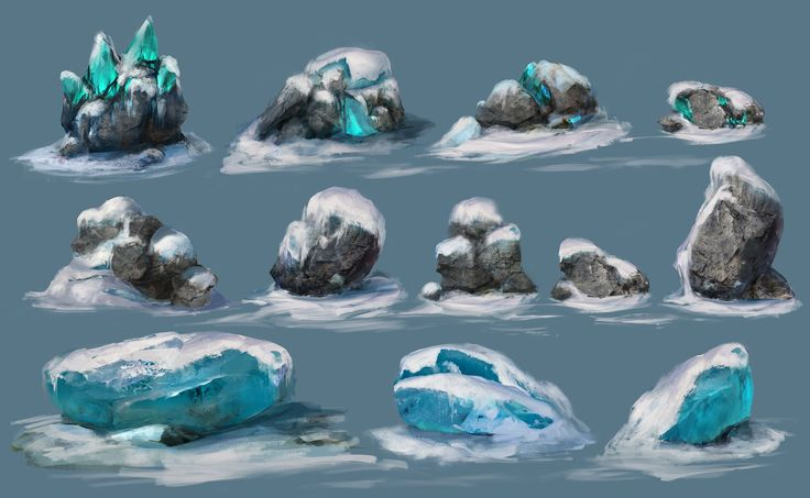 ArtStation - snow_props, Sergey Tsimmer
