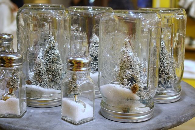 so awesome: Crafts Ideas, Winter Scene, Christmas Crafts, Thrifty Decor, Homemade Snow Globes, Easy Crafts, Snow Scene, Mason Jars, Christmas Ideas