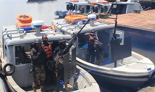 Seven Fake Officers Arrested By Nigerian Navy