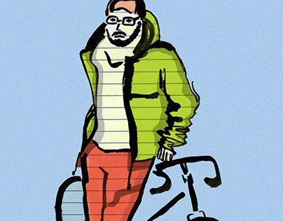 "Check out new work on my @Behance portfolio: ""Biker man"" http://be.net/gallery/57876331/Biker-man"