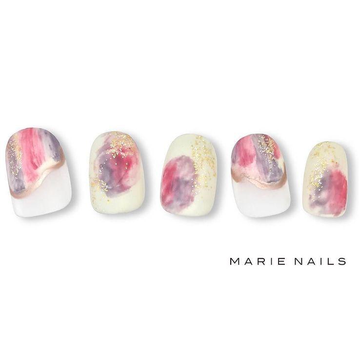 #マリーネイルズ #ネイル #cool #nailpolish #ジェルネイル #ネイルアート #gelnails #nailsalon #marienails…