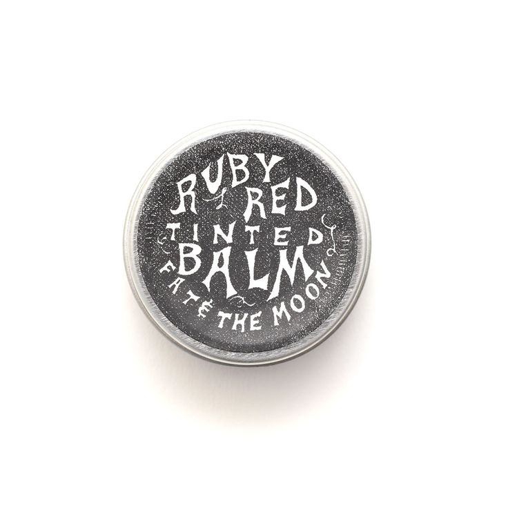 Fat & The Moon Ruby Red Tinted Natural Lip Balm | The Future Kept