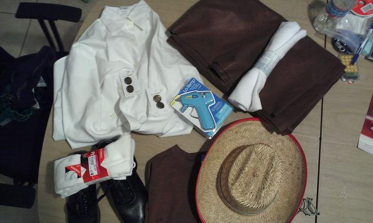 Straddling the Gap: DIY - Easy Colonial Costume