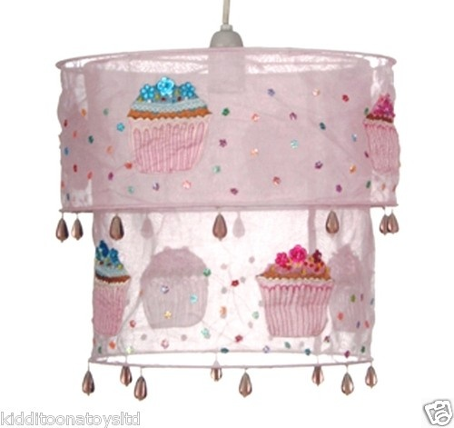 Pink Cupcake Lampshade