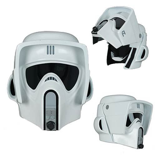 One of the cool things about the original Star Wars trilogy was how each Stormtrooper had a different design, depending on their role. You had Stormtroopers, Snowtroopers and Biker Scouts on Endor. If you like the design of the Biker Scouts, this Star Wars Return of the Jedi Biker Scout Trooper