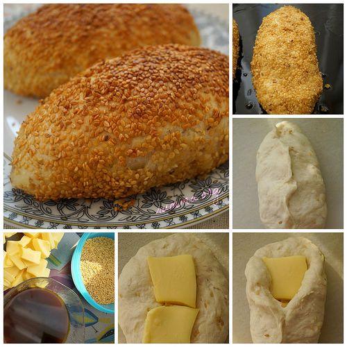 kaşarlı peynirli simit nasıl yapılır