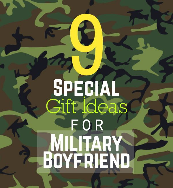 Gifts for Him   9 Special Gift Ideas for Military Boyfriend