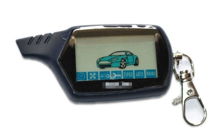 2015 New Hot Selling Starline A91 LCD Remote Controller For Two Way Car Alarm Keychain Starline A91 Russian Version - Car Toys Store | Accessories, Car Camera, Car Video Players, Audio, Car DVRs