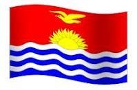 Kiribati Flag   -   CNN- Kiribati to be first nation to see sunrise in 2000