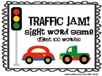006 Sight Word GamesTRAFFIC JAM Sight words, Common core