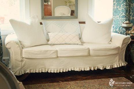 Slipcovers For Camelback Sofa Camelback Sofa Re Do