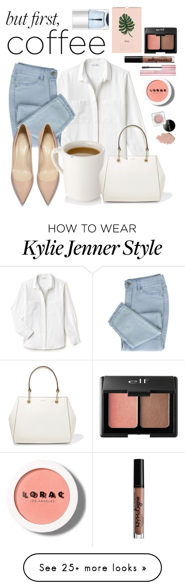 """""""Untitled #224"""" by mickeymousefashion on Polyvore featuring Lacoste, DKNY, Nails Inc., Charlotte Russe, NYX and LORAC"""