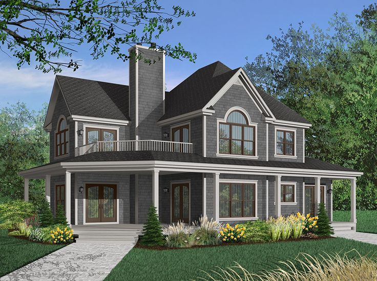 Rustic Country House Plan | Craftsman Home has 3938 square feet, 4 beds, 3.5 baths, walkout basement