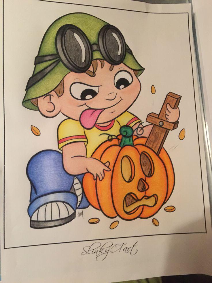 Killing pumpkin
